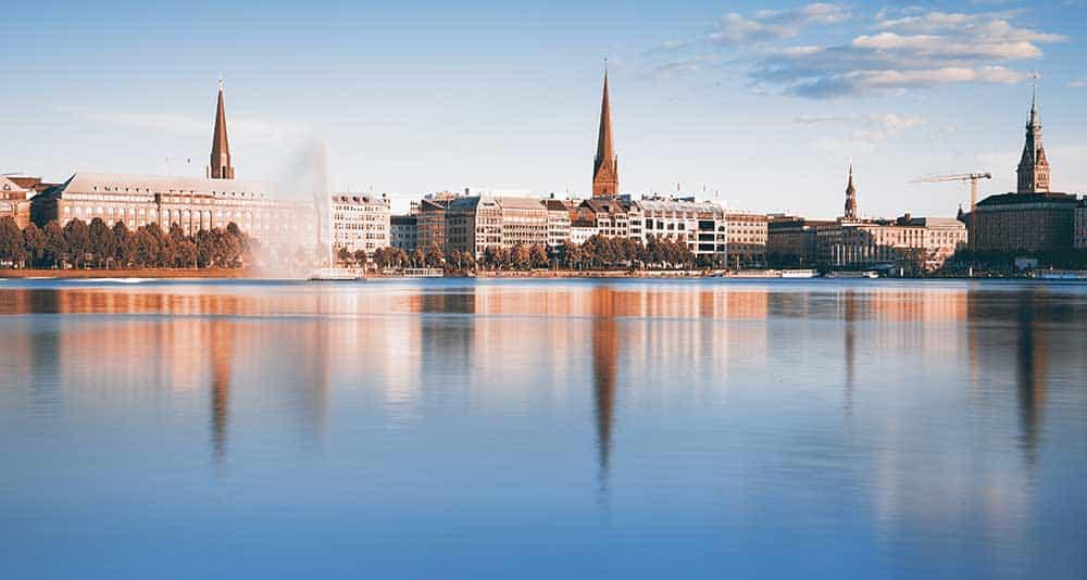 Inner Alster Lake