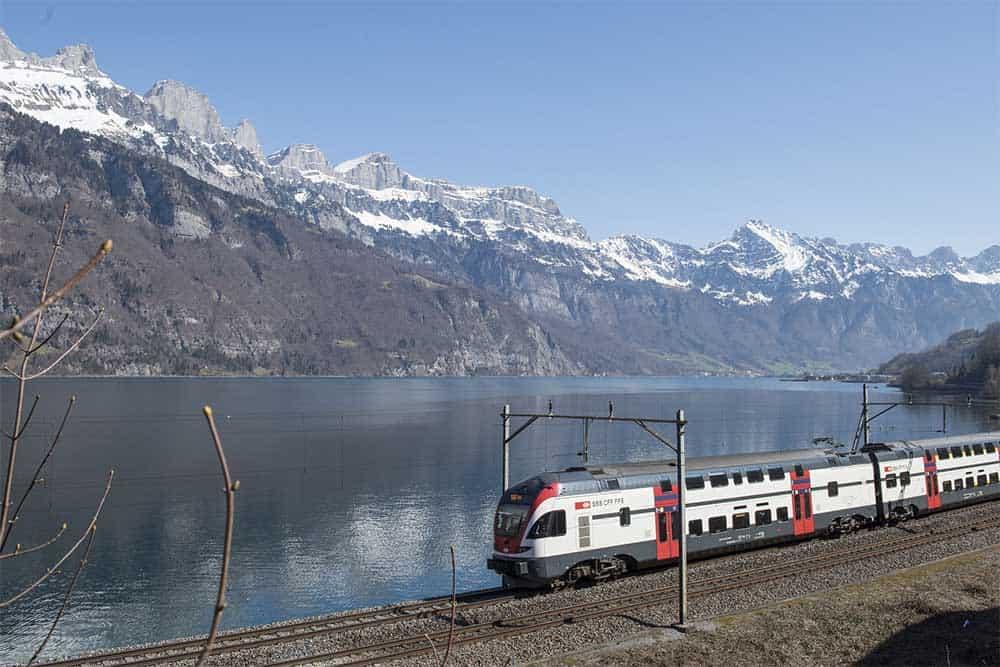 Interegio Train in Switzerland