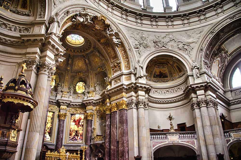 Inside the Berliner Dom, Berlin, Germany