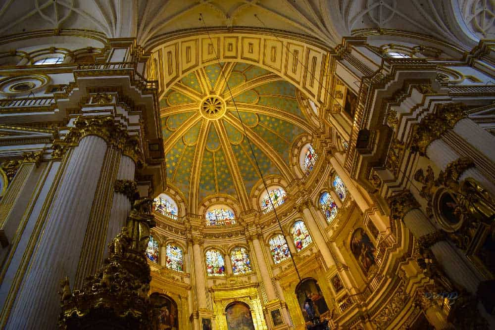 Interior of Granada Cathedral