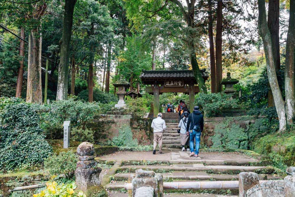 Jochi-ji Temple in Kamakura