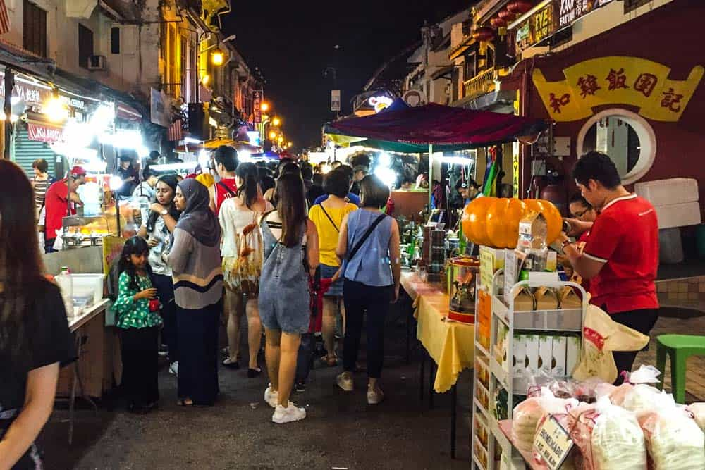 Jonker Walk Night Market in Melaka
