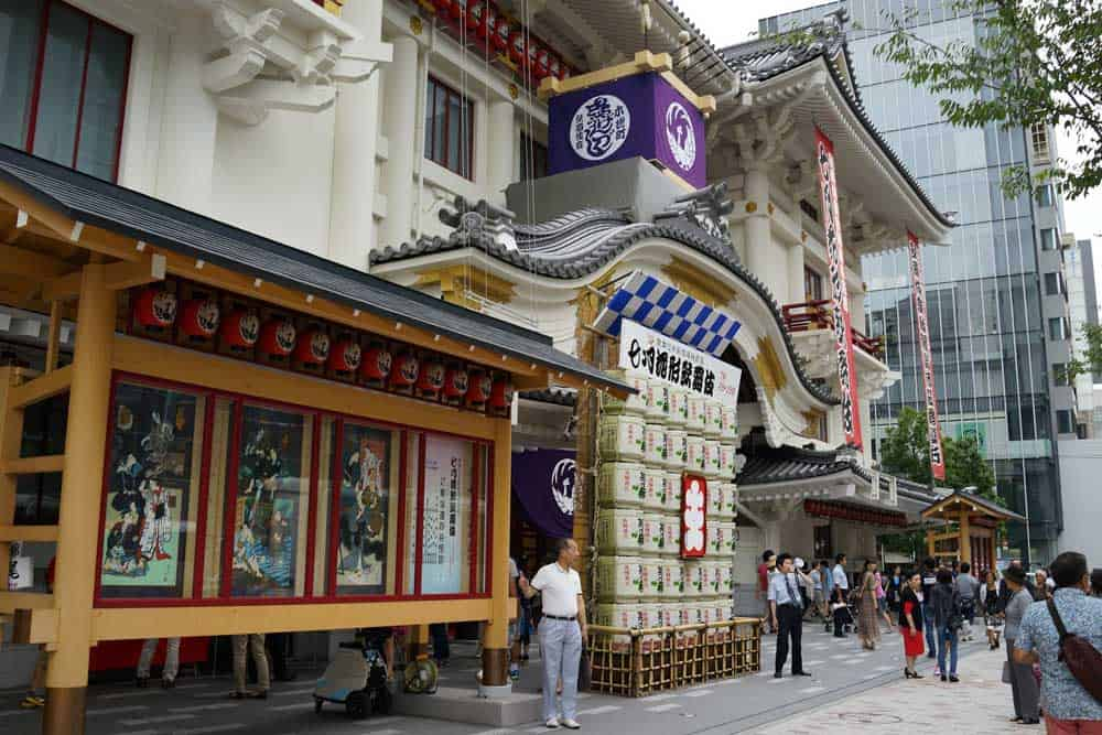 Kabuki-za Theatre in Ginza, Tokyo