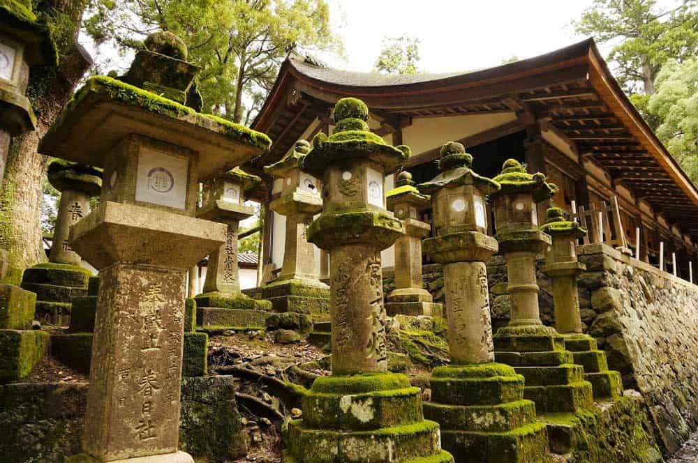 Kasuga-taisha in Nara, Japan
