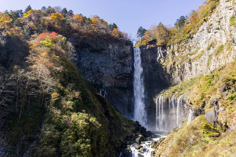 Kegon Waterfall in Nikko