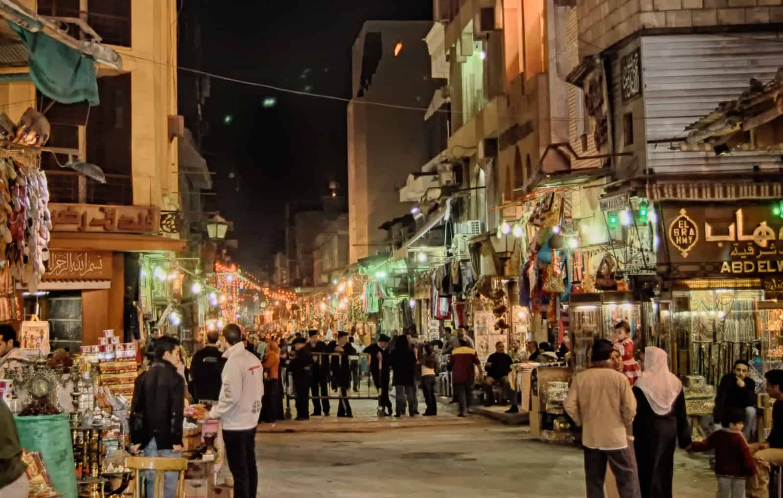 Khan el Khalili in Cairo, Egypt
