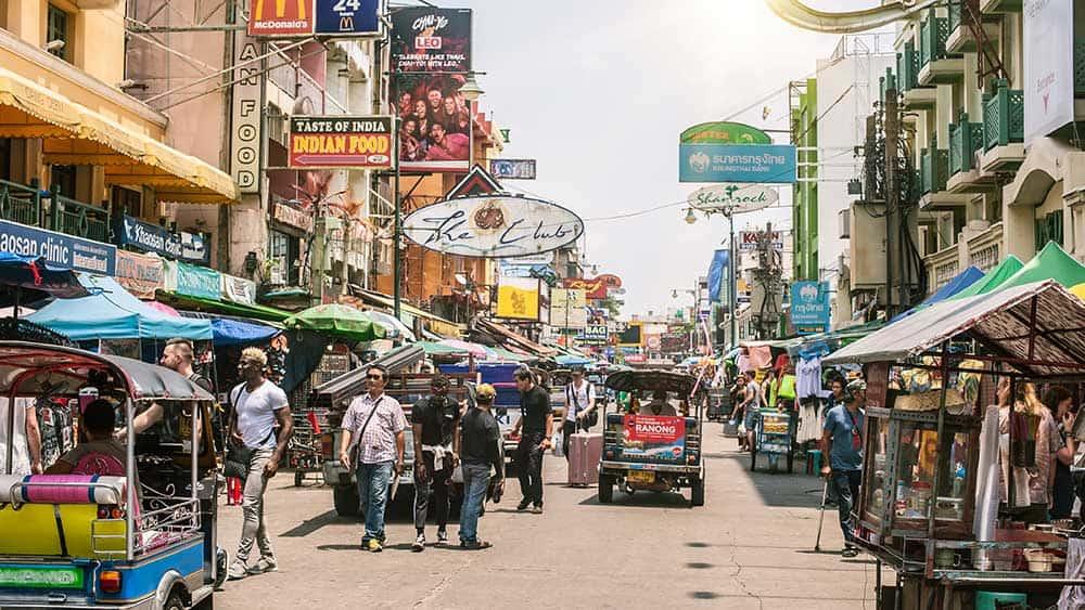 Khao San Road Area