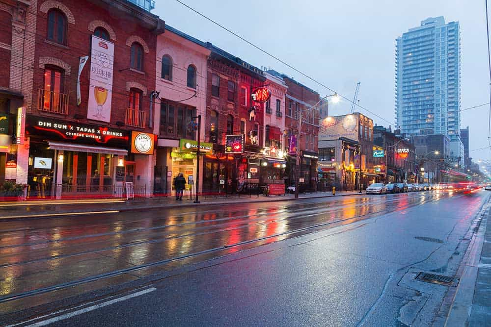 Entertainment District King Street East