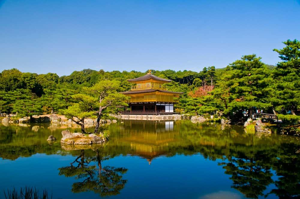 Kinkaku-ji in Kyoto