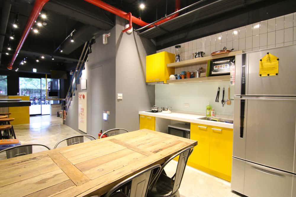 Đài Bắc, Đài Loan Kitchen-taipei-sunny-hostel