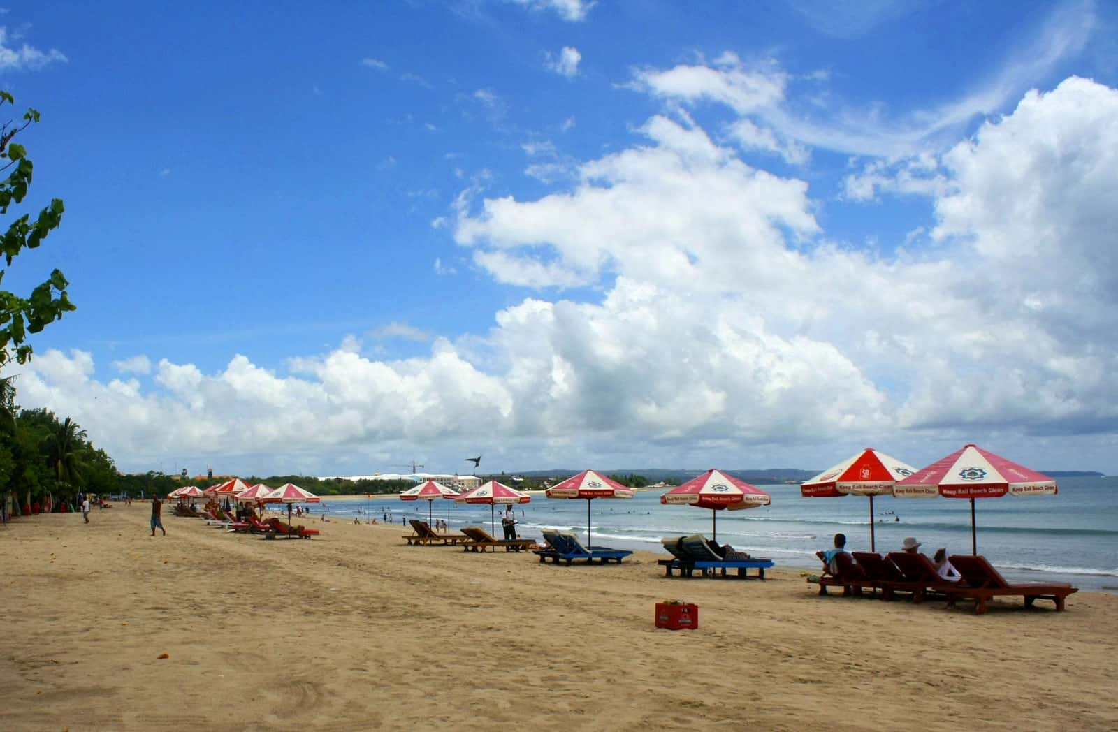 Kuta Beach in Kuta, Bali, Indonesia