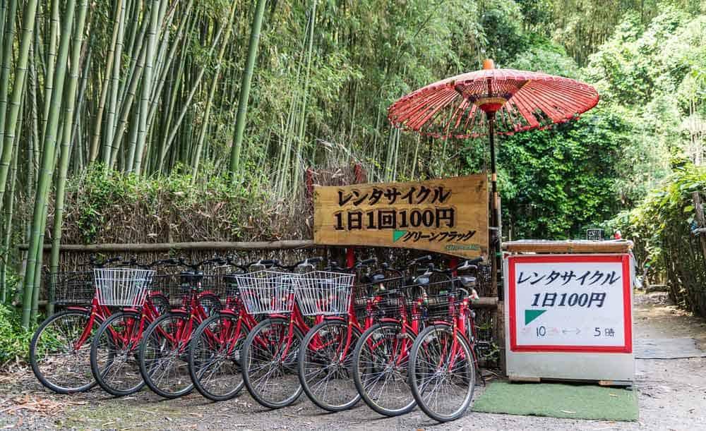 kyoto bike