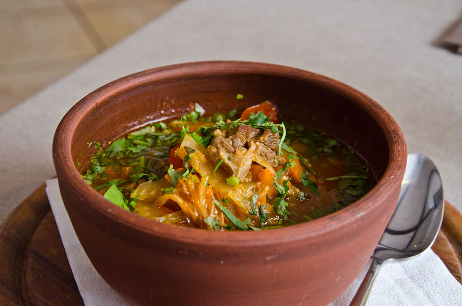 Lagman: One of the national soups of Uzbekistan