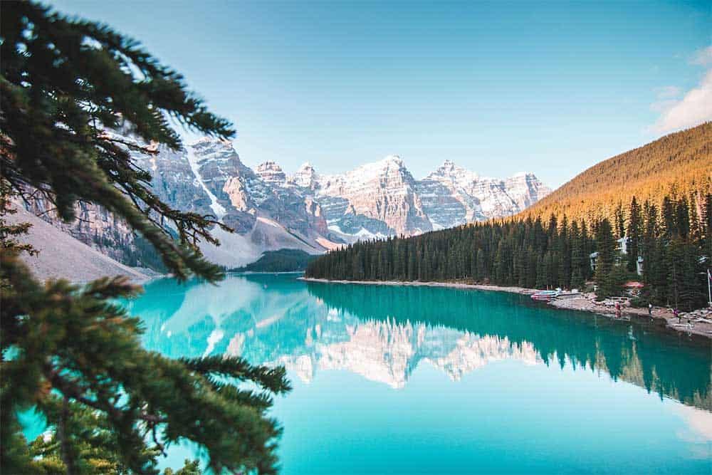 Lake in Banff, Alberta