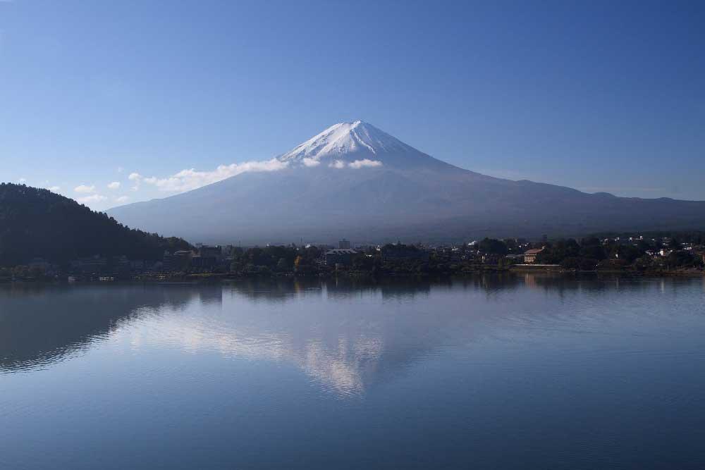 Lake Kawaguchiko & Mount Fuji in Japan