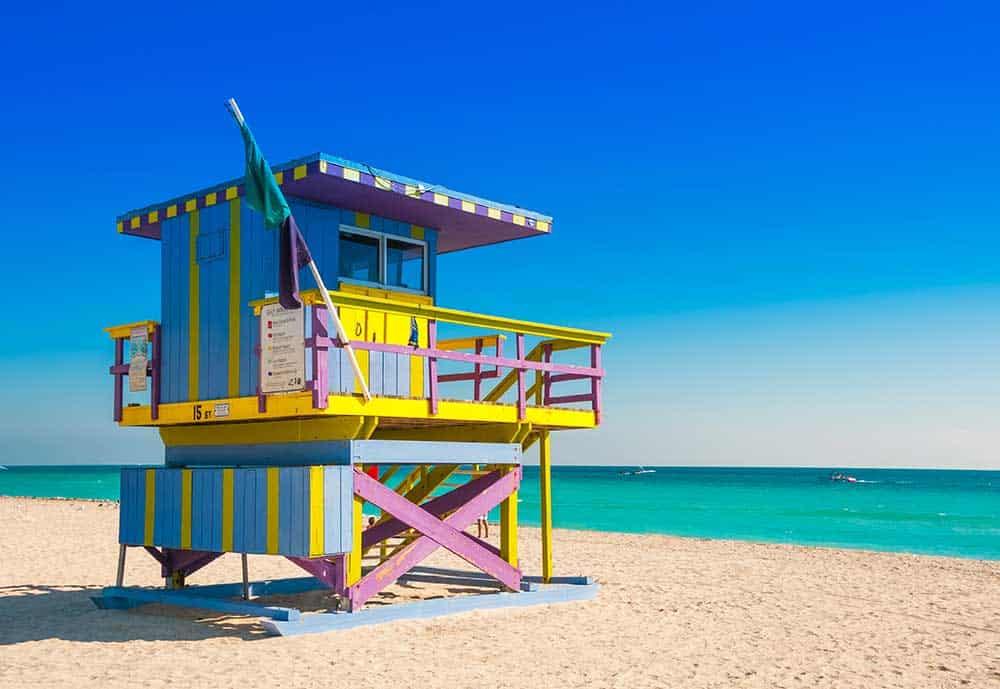 Lifeguard Tower at South Beach