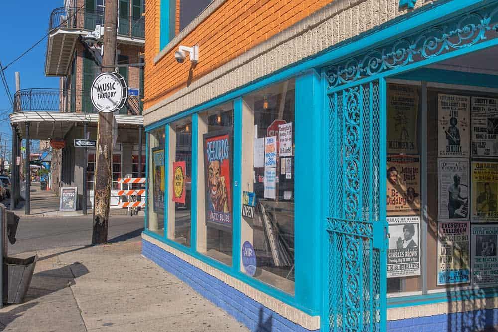Louisiana Music Factory on Frenchmen Street