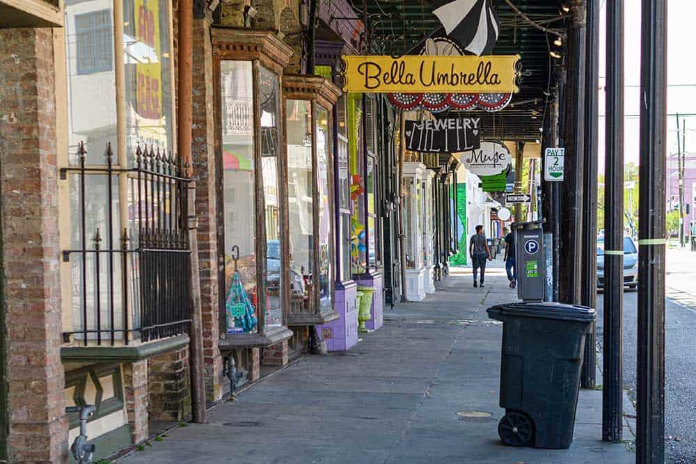 Magazine Street in Garden District