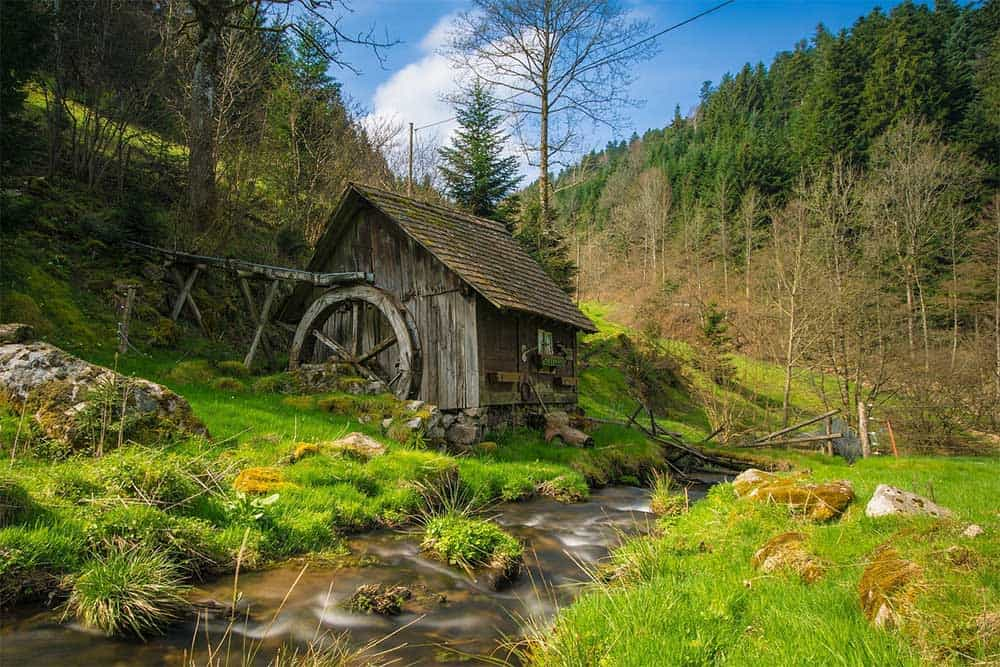 Mill in Black Forest