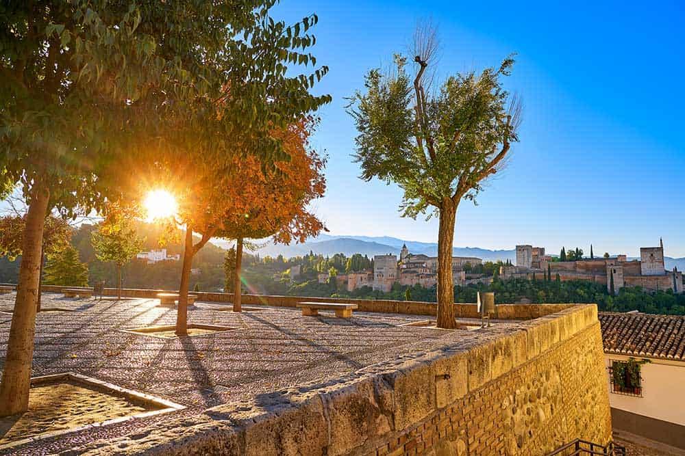 Mirador San Nicolas in Granada