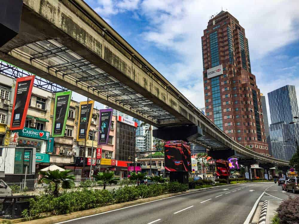 Monorail Bukit Bintang Kuala Lumpur