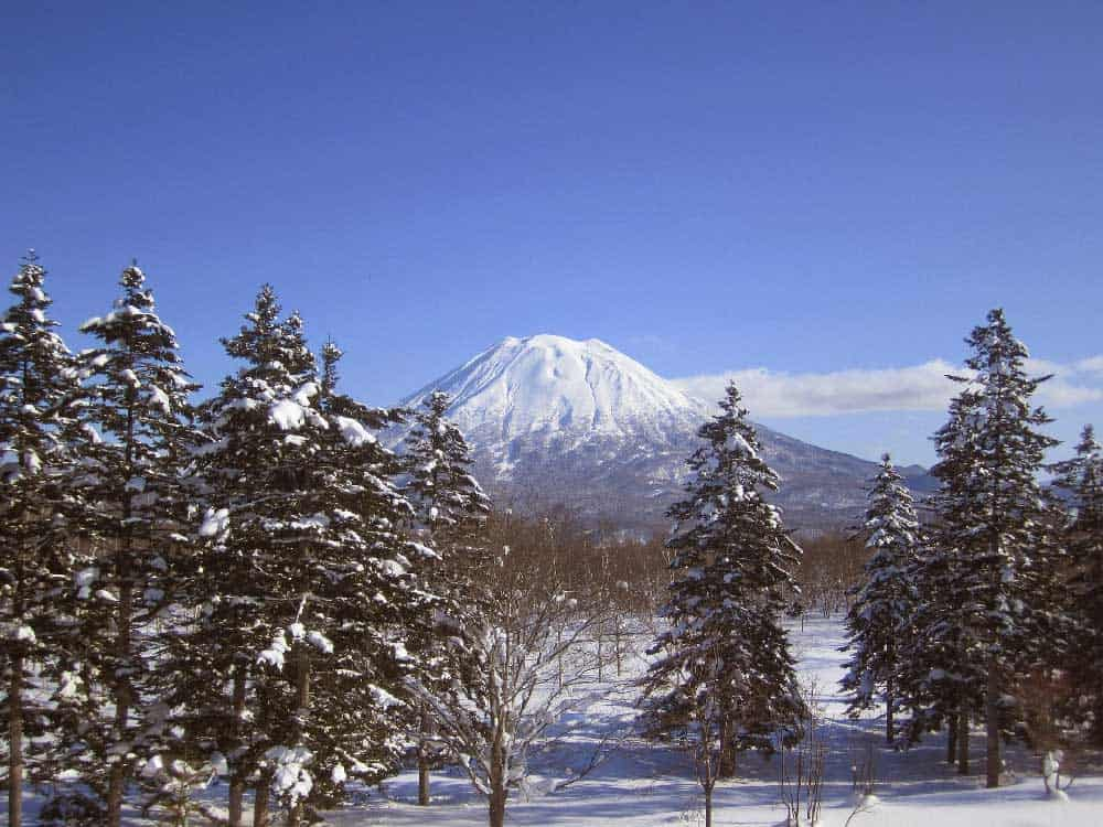 Mount Yotei in Niseko, Japan