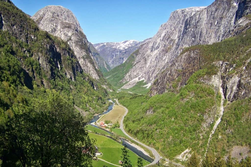 Mountains in Geirangerfjord, Norway