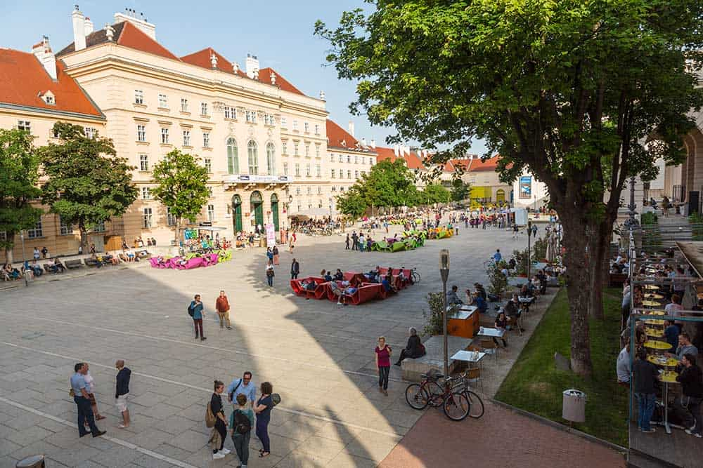 Museumsquartier in Neubau (7th District)