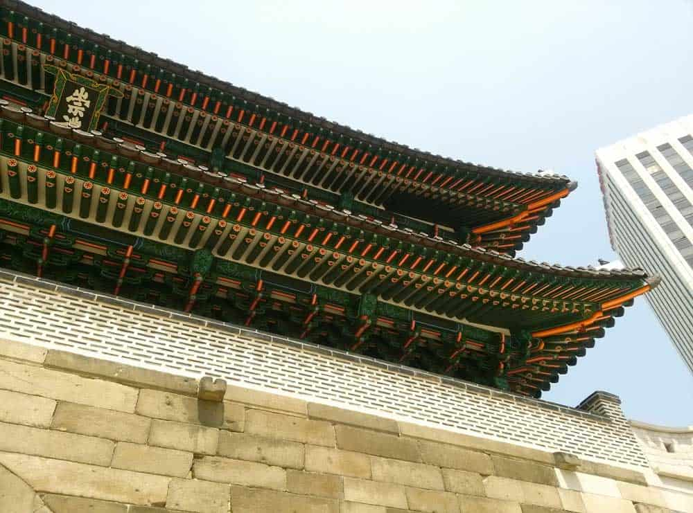 Namdaemun Gate in Seoul, South Korea