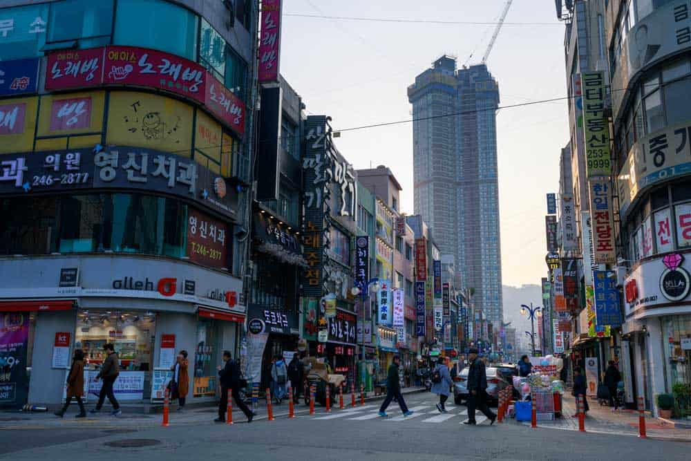 Nampo-dong Street in Busan