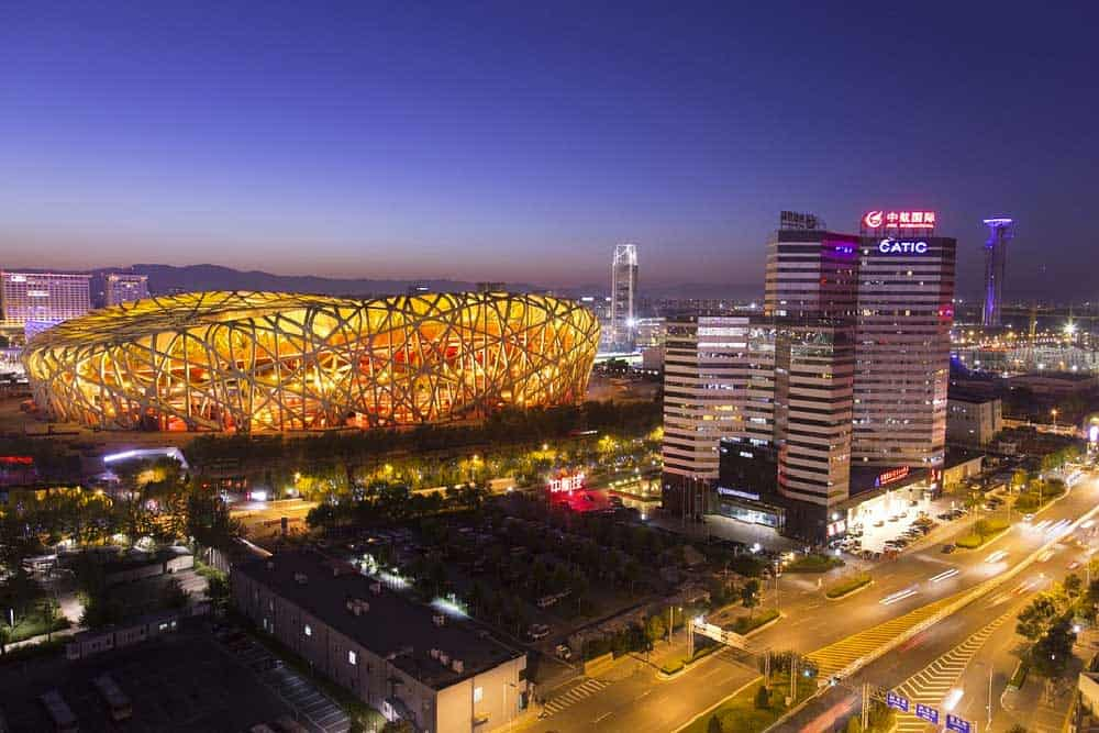 Night @ Beijing National Stadium