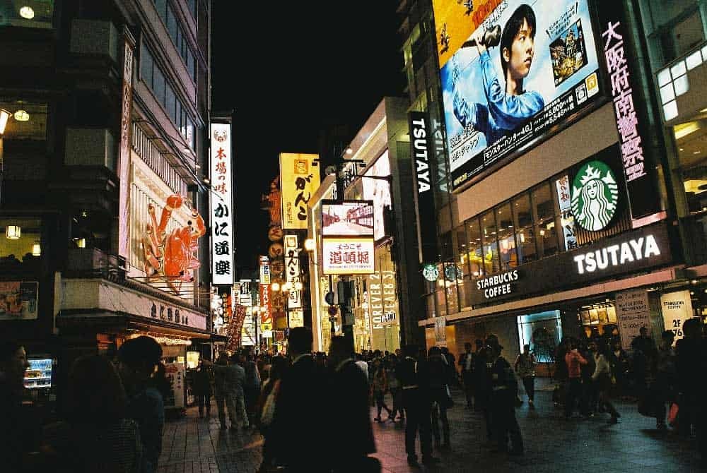 Night @ Dotonbori in Osaka, Japan