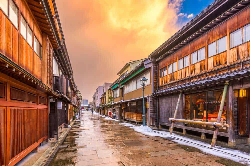 Nishi Chayagai in Kanazawa
