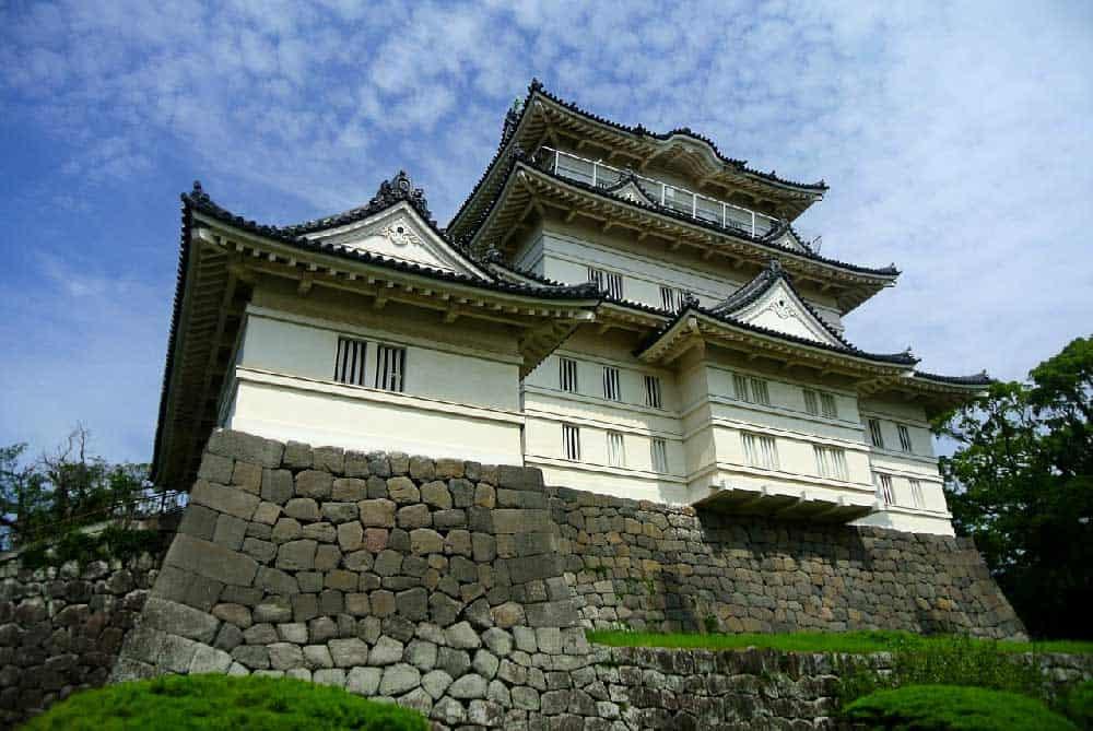Odawara Castle in Odawara, Japan