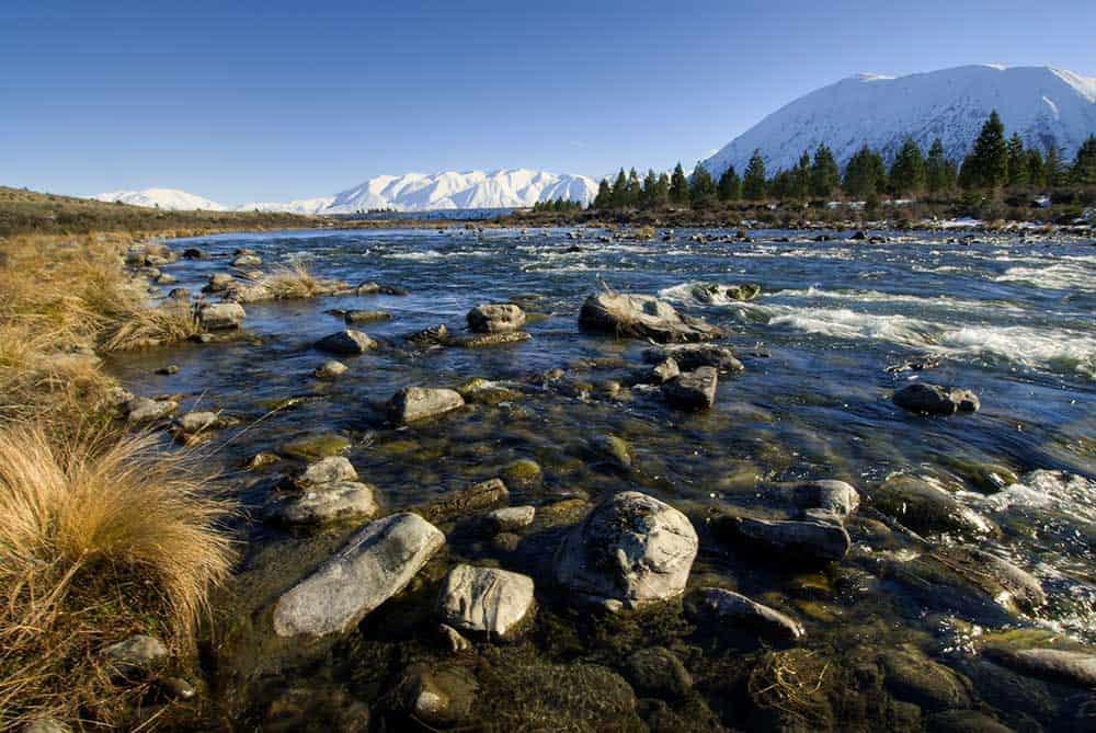 Ohau River Mackenzie Country