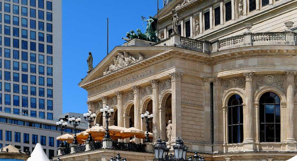 Old Opera House in Innenstadt