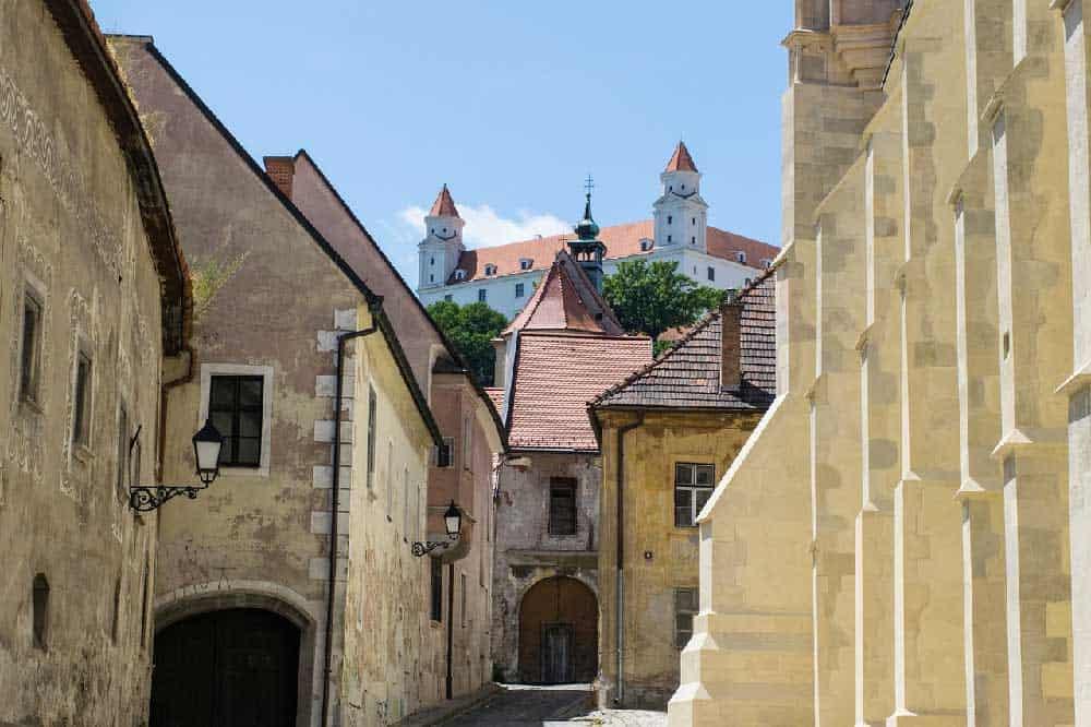 Old Town Bratislava in Bratislava, Slovakia