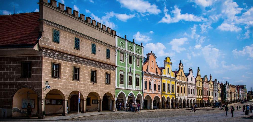 Old Town, Telc, Czech Republic