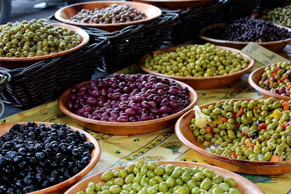Olives in France