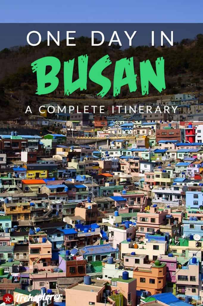 Only got one day in Busan? Kick-start your trip with this complete 1-day itinerary for 24 hours in Busan! Includes suggestions for what to do, what to eat and where to stay. #busan #southkorea #travel #itinerary