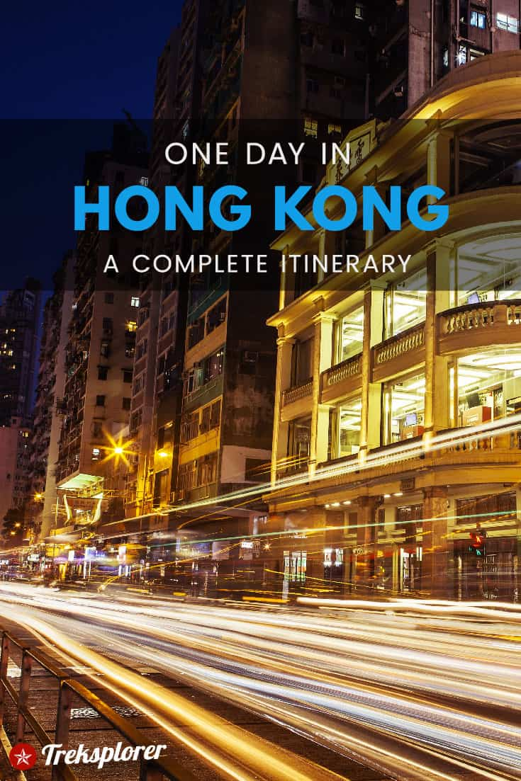 Got only 24 hours in Hong Kong? Plan out your trip with this complete 1-day Hong Kong itinerary for independent travellers including what to do, see, eat & where to stay! #hongkong #asia #travel #itinerary