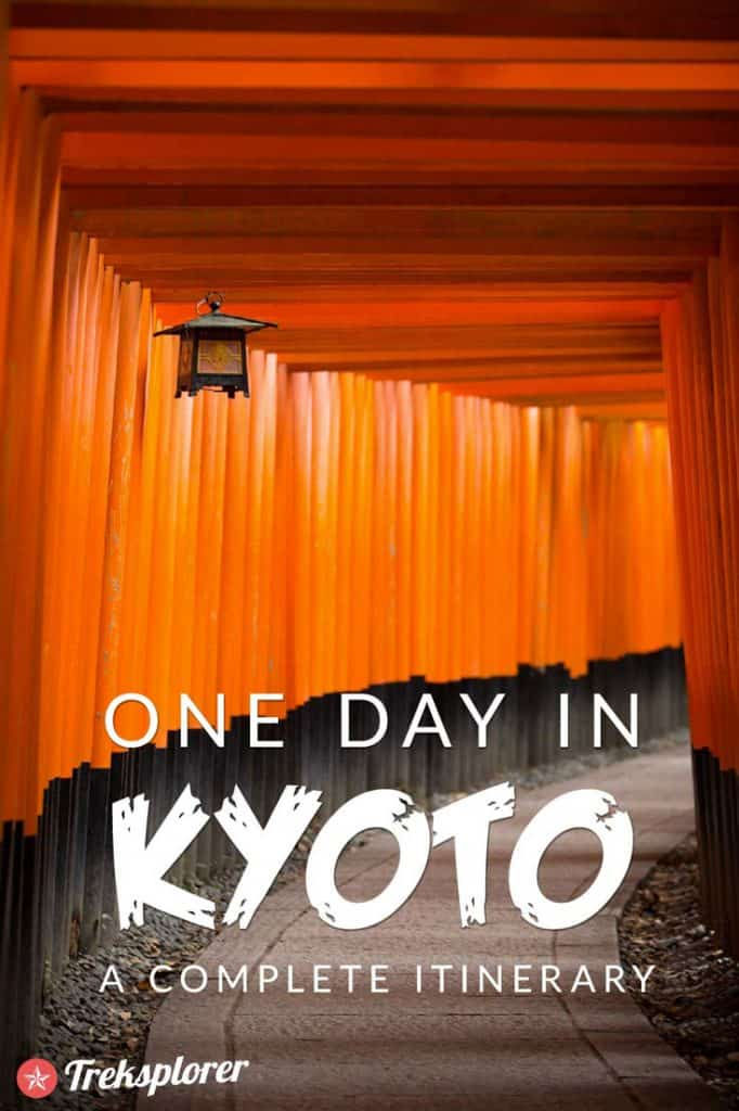 Only got one day in Kyoto? Kick-start your trip with this complete 1-day itinerary for 24 hours in Kyoto! Includes suggestions for what to do, what to eat and where to stay. #kyoto #japan #travel #itinerary