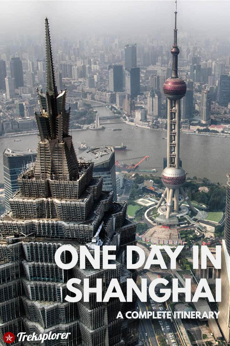 Only got one day in Shanghai? Kick-start your trip with this complete 1-day itinerary for 24 hours in Shanghai! Includes suggestions for what to do, what to eat and where to stay. #shanghai #china #travel #itinerary