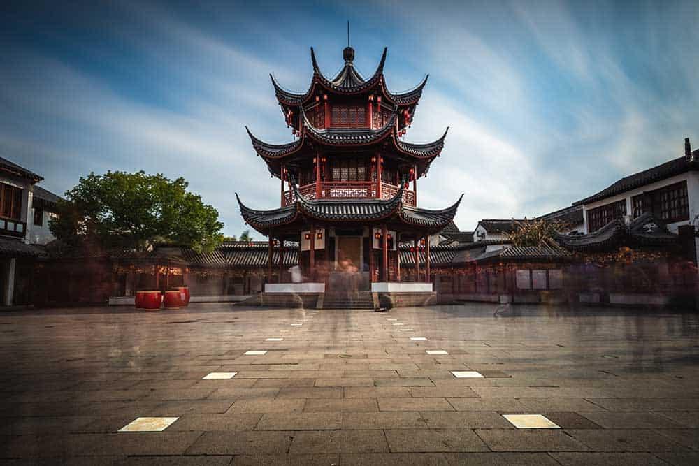 Pagoda in Qibao Ancient Town