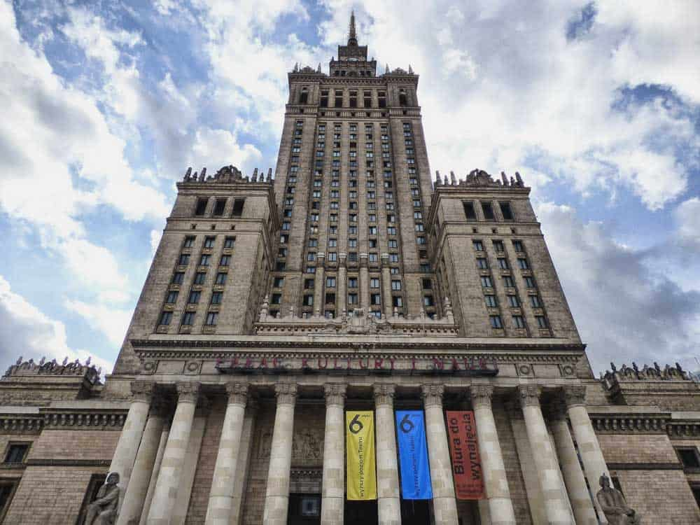 Palace of Culture & Science in Warsaw