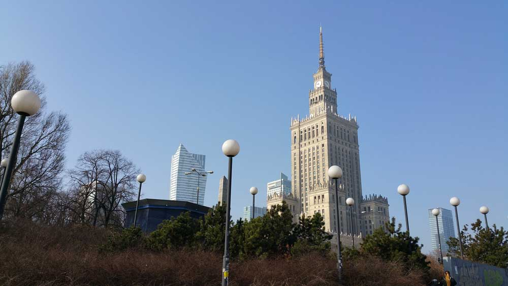 Palace of Science and Culture in Warsaw, Poland