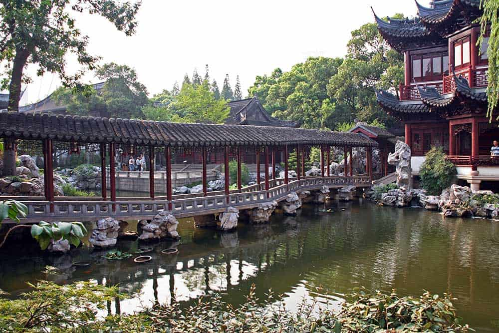 Pavilion in Yuyuan Garden