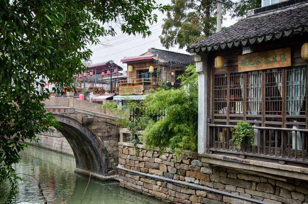 Pingjiang Road in Suzhou