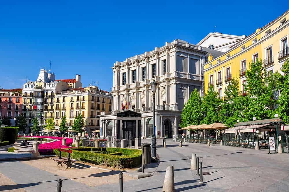 Plaza de Oriente Teatro Real