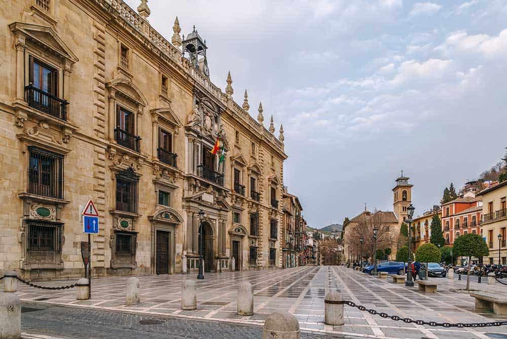 Plaza Santa Ana, Granada